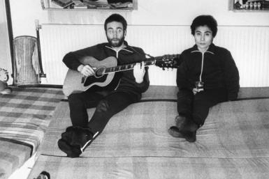 Plucky Danish students braved a snowstorm in remote Jutland to snare an exclusive with Lennon and Yoko Ono for their school paper