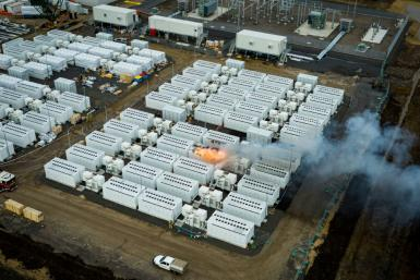 It took firefighters three days to bring the blaze under control after a fire broke out in a 13-tonne lithium 'Megapack' battery at the Geelong site