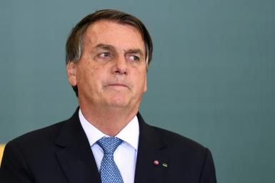 Brazilian President Jair Bolsonaro (pictured October 7, 2021) has repeatedly claimed that tests show he has a large number of coronavirus antibodies and thus does not need to be vaccinated, something experts dispute