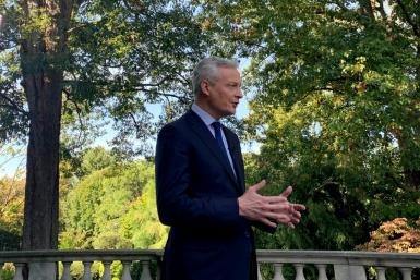 French Finance Minister Bruno Le Maire in an interview with AFP urged Washington to resolve the trade conflicts with its European partners, notably over steel and aluminum