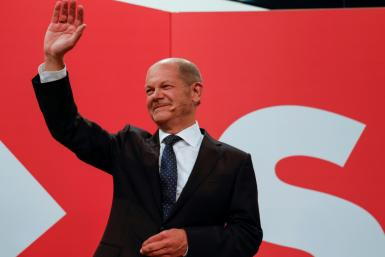 Olaf Scholz said he believed 'a new beginning is possible'