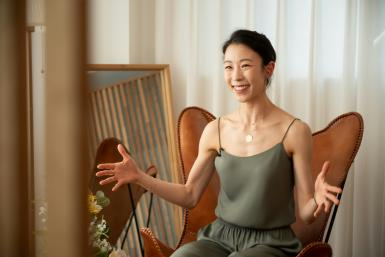 Sae Eun Park is the first Asian ballerina to reach the top etoile rank in the Paris Opera Ballet's 352-year history