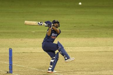 The diminutive Ishan Kishan is one of India's most exciting young batsmen