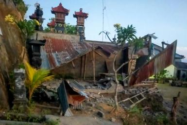 Indonesia experiences frequent quakes due to its position on the Pacific 'Ring of Fire'