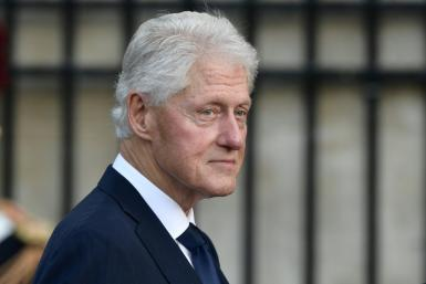 Former US president Bill Clinton, 75, was released from a hospital outside Los Angeles after spending five nights there being treated for an infection
