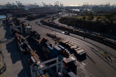 The Port of Los Angeles in California has begun 24-hour operations as a way to help ease supply chain bottlenecks that are choking commerce and pushing up prices