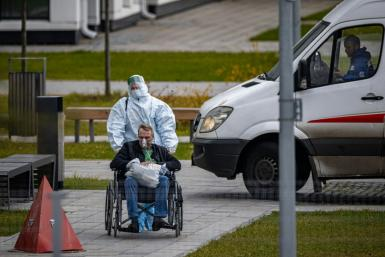 Covid cases and deaths are soaring in Russia