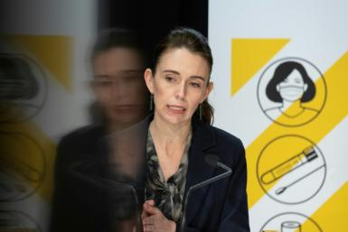 New Zealand's Prime Minister Jacinda Ardern has been forced to drop her core policy goal of completely eliminating Covid in favour of ramping up vaccination efforts