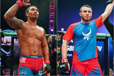 Ray Cooper II and Magomed Magomedkerimov