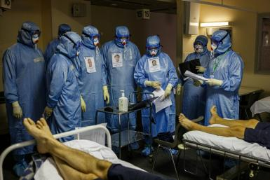 Covid deaths have soared in Russia recently as government pleas for the population to get vaccinated fall on deaf ears