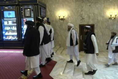 Taliban delegates arrive for talks with Russia in Moscow, as the rulers of Afghanistan seek to assert influence on Central Asia and push for action against Islamic State fighters within Afghanistan.