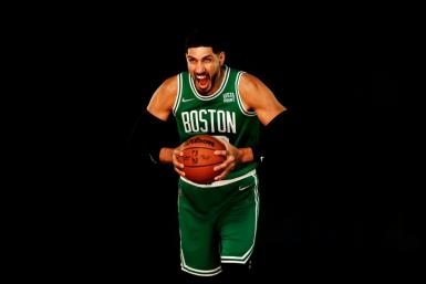 Boston Celtics player Enes Kanter, who has incurred China's wrath with comments about Beijing's policies in Tibet
