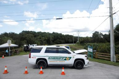 Law enforcement agencies during the search of the T. Mabry Carlton Jr. Memorial Reserve for Brian Laundrie