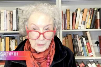 Margaret Atwood: 'We members of the human race have been through a very difficult time here on planet Earth, and it's not over yet'