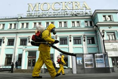 Russia reported a record 1,036 Covid-19 deaths in a single day Thursday, but officials have warned the worst is yet to come
