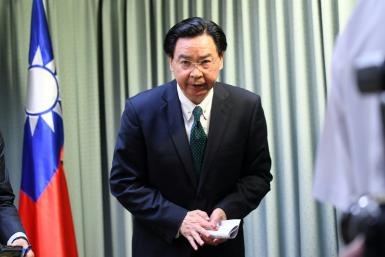 Taiwan Foreign Minister Joseph Wu is due in Prague next week after a government delegation visits Slovakia