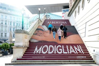 """Vienna's Albertina museum is one of several to have social media sites judge some pieces, including in current exhibition of Italian artist Amadeo Modigliani, too """"explicit"""""""