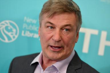 Actor Alec Baldwin, who fired a prop gun that killed a director of photography on the set of a Western he was filming, is seen here in 2019