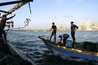 For Gaza, fenced in from three sides by Israel since Hamas Islamists took power in 2007, the open sea seems to offer the promise of freedom -- but it is deceptive