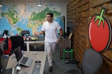 Hussam Hammo founded Tamatem -- which means tomato -- in 2013