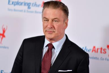 Actor Alec Baldwin, pictured in April 2019, has spoken of his heartbreak after the on-set killing of cinematographer Halyna Hutchins