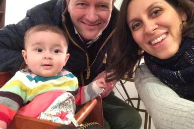Nazanin Zaghari-Ratcliffe, who appears with her husband Richard and daughter Gabriella, has been held in Iran for five years