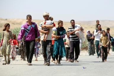 The Yazidi community, mainly found in northern Iraq, were forced to flee when IS attacked them, destroying their ancient way of life and culture