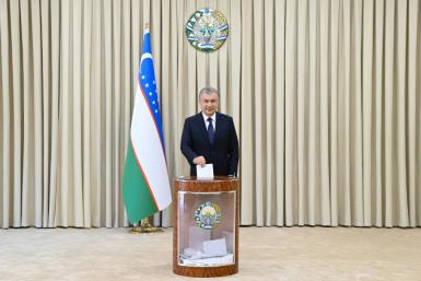 Uzbek president and former prime minister Shavkat Mirziyoyev ccame to power in 2016 after the death of his mentor, dictator Islam Karimov