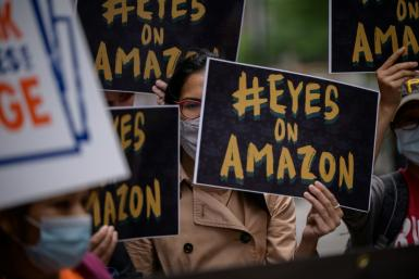 Employees at Amazon's Staten Island location are vying to form the first union at the e-commerce colossus