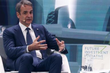 """Greek Prime Minister Kyriakos Mitsotakis, while participating in the annual Future Investment Initiative conference Riyadh, warned that his country had """"drawn our lines very, very clearly"""""""