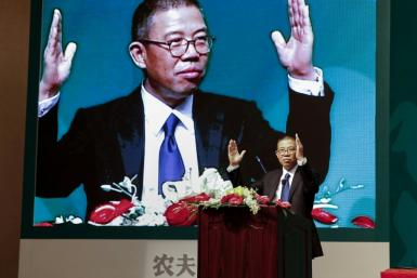 Bottled-water tycoon Zhong Shanshan has become China's wealthiest person, worth $60.5 billion