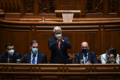 Portuguese Prime Minister Antonio Costa lost the support of some smaller left-wing parties