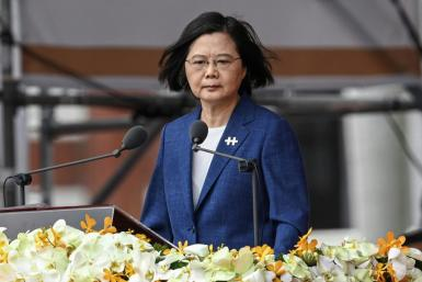 Taiwan's President Tsai Ing-wen expressed confidence that the United States would come to the island's defense if China launched a military strike