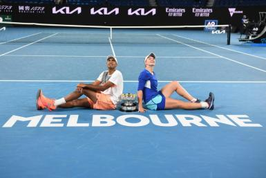The Australian Open is at the centre of a row about vaccines