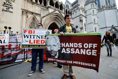 Assange faces 18 charges in the US including espionage and hacking