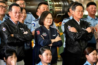 President Tsai Ing-wen: 'We have a wide range of cooperation with the US aiming at increasing our defence capability'