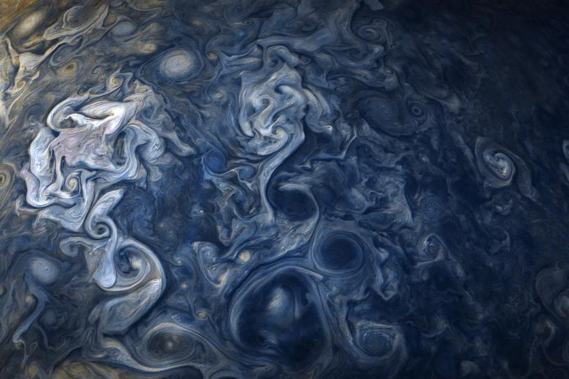 jupiter blue from Juno