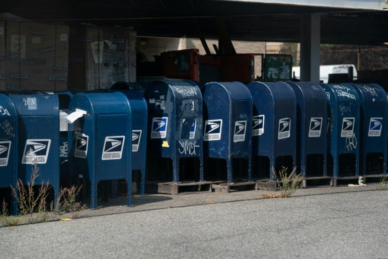 Mail boxes have been removed and overtime cut, which critics say has slowed US mail delivery and could jeopardize voting in November