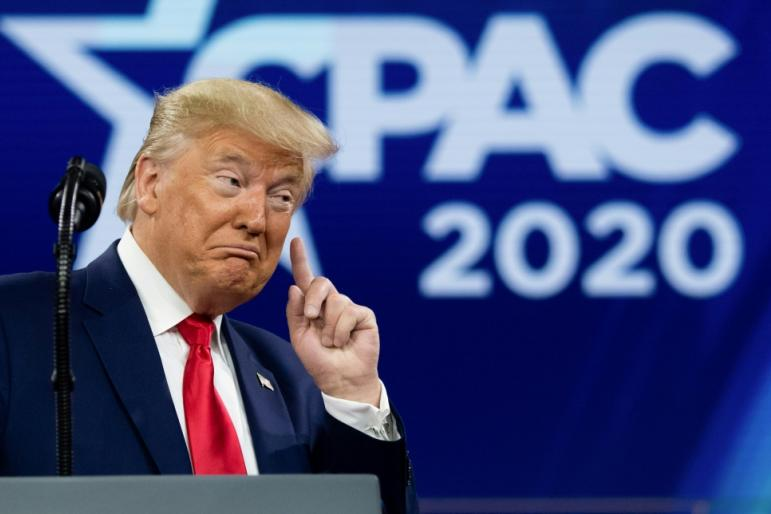 Former US President Donald Trump will address CPAC on February 28
