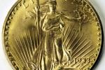 HANDOUT PICTURE - of famed 1933 Double Eagle $20 gold coin to be auctioned on behalf of the U.S go..