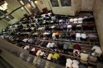 Muslims pray at King Fahad Mosque on the first day of the Muslim fasting month of Ramadan in Culver City, Los Angeles