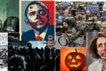 Virginia County GOP Group Sends Halloween E-mail Depicting Obama with Bullet Hole Through Head