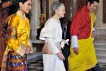 Bhutan's Royal Couple Visits Japan in National Costume (PHOTOS)