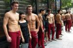 Abercrombie & Fitch Models Go Shirtless for Singapore Store Opening (PHOTOS)