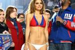 Maria Menounos Strips to Bikini in NYC for Giants Win (PHOTOS)
