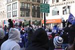 Giants Parade 2012: Eli Manning, Victor Cruz and Giants Make Their Way Through Canyon of Heroes