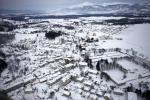 Europe Cold Weather: Latest Aerial Views of Countryside Blanketed With Snow (PHOTOS)