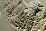 Satellite photo of what is believed to be a uranium-enrichment facility near Qom