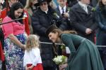 Kate Middleton's Emerald Look Marks St. Patrick's Day (PHOTOS)