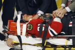 Chicago Blackhawks' Marian Hossa Hospitalized After Brutal Hit